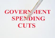 ciie wydatki rządowe Fotografia Stock