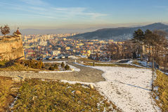 Ciityscape of Brasov, Romania Royalty Free Stock Image