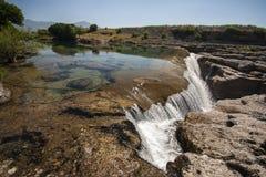 Cijevna river Royalty Free Stock Image