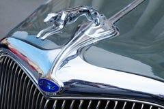 cijfer en het Ford-embleem Royalty-vrije Stock Foto