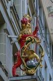 Cijfer van de leeuw, Bern Stock Afbeelding