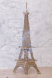 Cijfer van de Toren van Eiffel op een vloer royalty-vrije stock fotografie