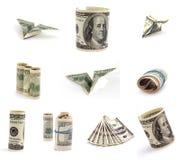 Cijfer van dollars. Royalty-vrije Stock Afbeelding