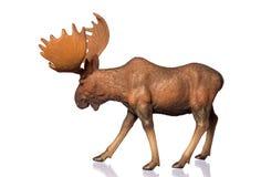 Cijfer van een Amerikaanse eland Royalty-vrije Stock Foto