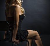 cijfer van een jonge vrouw Stock Fotografie