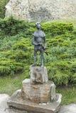 Cijfer van een jongen in Nowy Sacz, Stock Foto