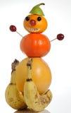 Cijfer van fruit Stock Afbeeldingen