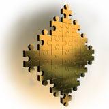 Cijfer van gouden raadsel vector illustratie