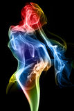 Cijfer van rook Royalty-vrije Stock Foto