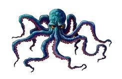 Cijferoctopus royalty-vrije stock foto's