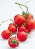 Cijferreeks van kleine tomatenfiguur 07 royalty-vrije stock foto