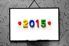 2015 cijfers Royalty-vrije Stock Foto's