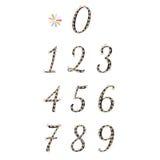 cijfers Royalty-vrije Stock Afbeelding
