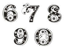 Cijfers vector illustratie