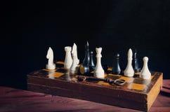 Cijfers aangaande de schaakraad stock fotografie