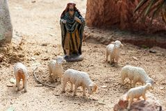 Cijfers die Kerstmis, Spanje vertegenwoordigen Stock Afbeelding