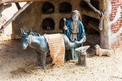 Cijfers die Kerstmis, Spanje vertegenwoordigen Stock Fotografie