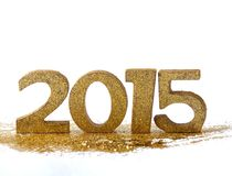 2015 cijfers - nieuw jaar Stock Foto's
