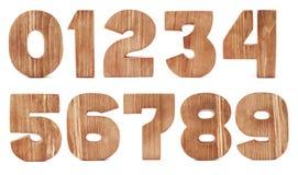 Cijfers van een boom Stock Fotografie