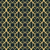 Cijfers van gestreepte lijnen die eigenaardige rooster naadloze patte vormen royalty-vrije illustratie