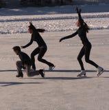 Cijferschaatsers Royalty-vrije Stock Foto's