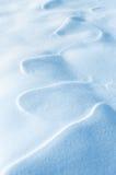 Cijferwind op sneeuw Royalty-vrije Stock Afbeelding