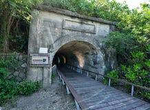Cijin Star Tunnel Royalty Free Stock Photo