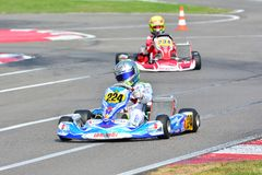 CIK-FIA Europäer Karting-Meisterschaft Stockbild