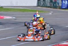 CIK-FIA Europäer Karting-Meisterschaft Lizenzfreie Stockfotos