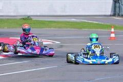 CIK-FIA Europäer Karting-Meisterschaft Lizenzfreie Stockfotografie
