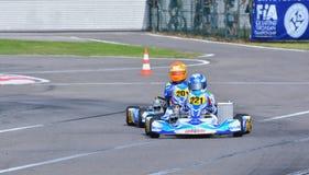 CIK-FIA Europäer Karting-Meisterschaft Stockfotos