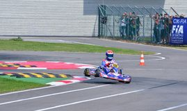 CIK-FIA European Karting Championship. Stock Images