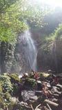 CIKARACAK瀑布茂物印度尼西亚 库存图片