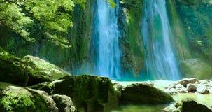 Cikaso瀑布风景在印度尼西亚 影视素材
