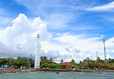 Cikoneng lighthouse built by the Dutch in 1885 Stock Photography