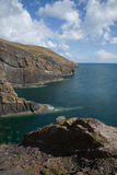 Cilan Head sea cliffs. Royalty Free Stock Image