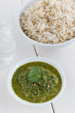 Cilantro chutney Royalty Free Stock Images