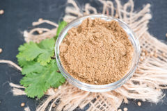 Cilantro Powder Royalty Free Stock Images