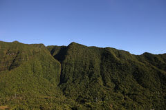 Cilaos cirkus, La Reunion Island, indiskt hav Arkivfoton