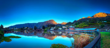 Cilaos lake Stock Images