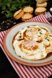 Cilbir - turecczyzny kłusujący jajka obraz stock