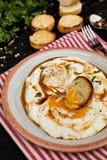 Cilbir - turecczyzny kłusujący jajka zdjęcia royalty free