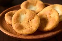 Cileno Sopaipilla Fried Pastries fotografia stock libera da diritti