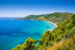 Cilentan Coast, province of Salerno, Campania, Italy Royalty Free Stock Images
