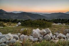 Cilento-Landschaft Stockfoto