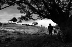 Ciletuh Geopark, en av den nyligen öppnade turist- destinationen i Sukabumi Fotografering för Bildbyråer