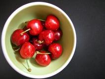Ciliege rosse Fotografia Stock