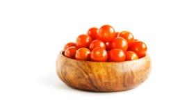 Ciliegia dei pomodori Immagine Stock