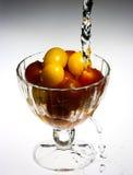 Ciliegia dei pomodori Fotografie Stock