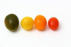 Ciliegia dei pomodori Immagini Stock